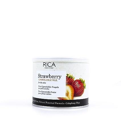 Cálido Cera Fresa de Rica, azucarero de 400 ml para sugarme desde el, pecho