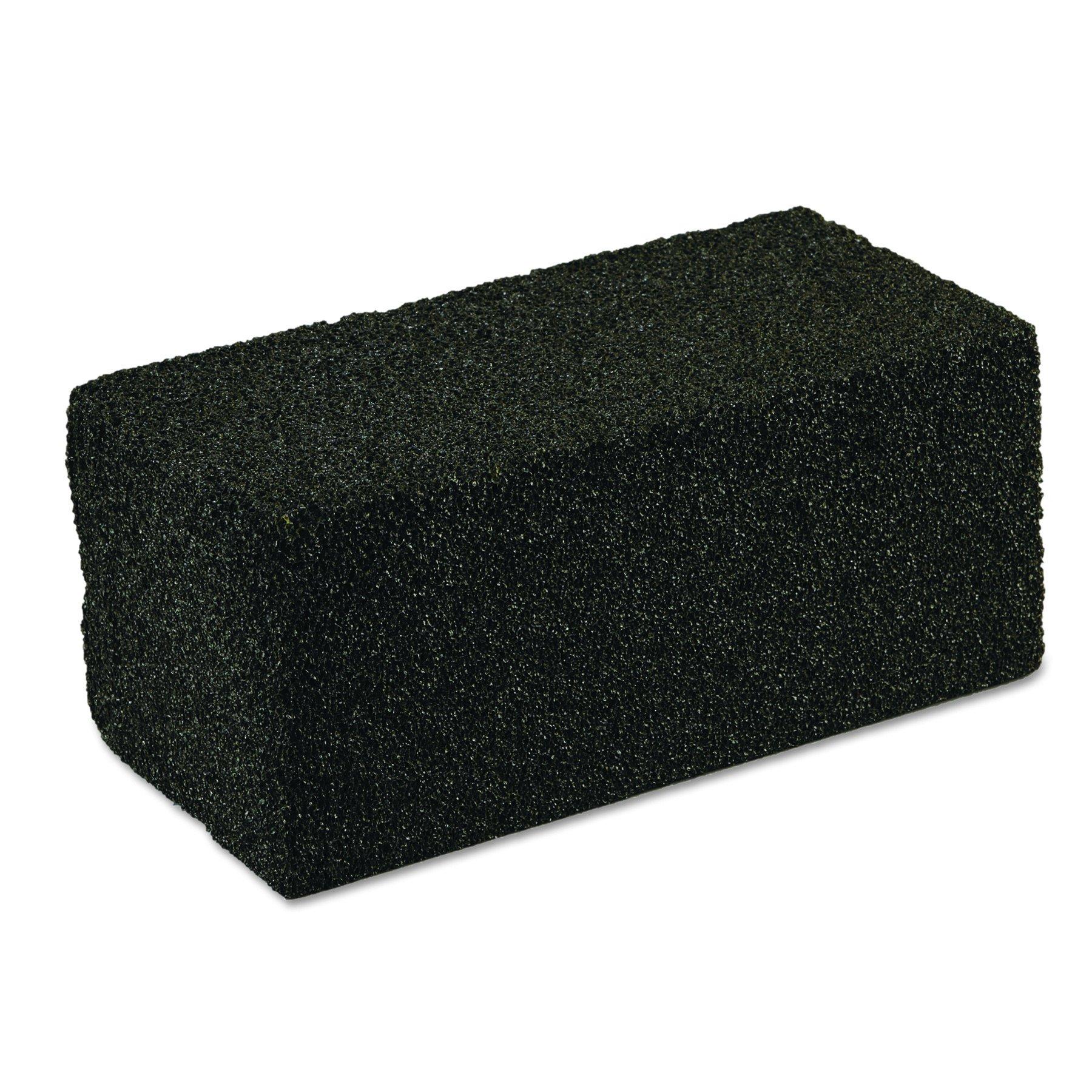 Scotch-Brite PROFESSIONAL 15238 Grill Cleaner, Grill Brick, 4 x 8 x 3 1/2, Black (Case of 12)