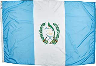 product image for Annin Flagmakers Model 193165 Guatemala Flag Nylon SolarGuard NYL-Glo, 4x6 ft, 100% Made in USA to Official United Nations Design Specifications