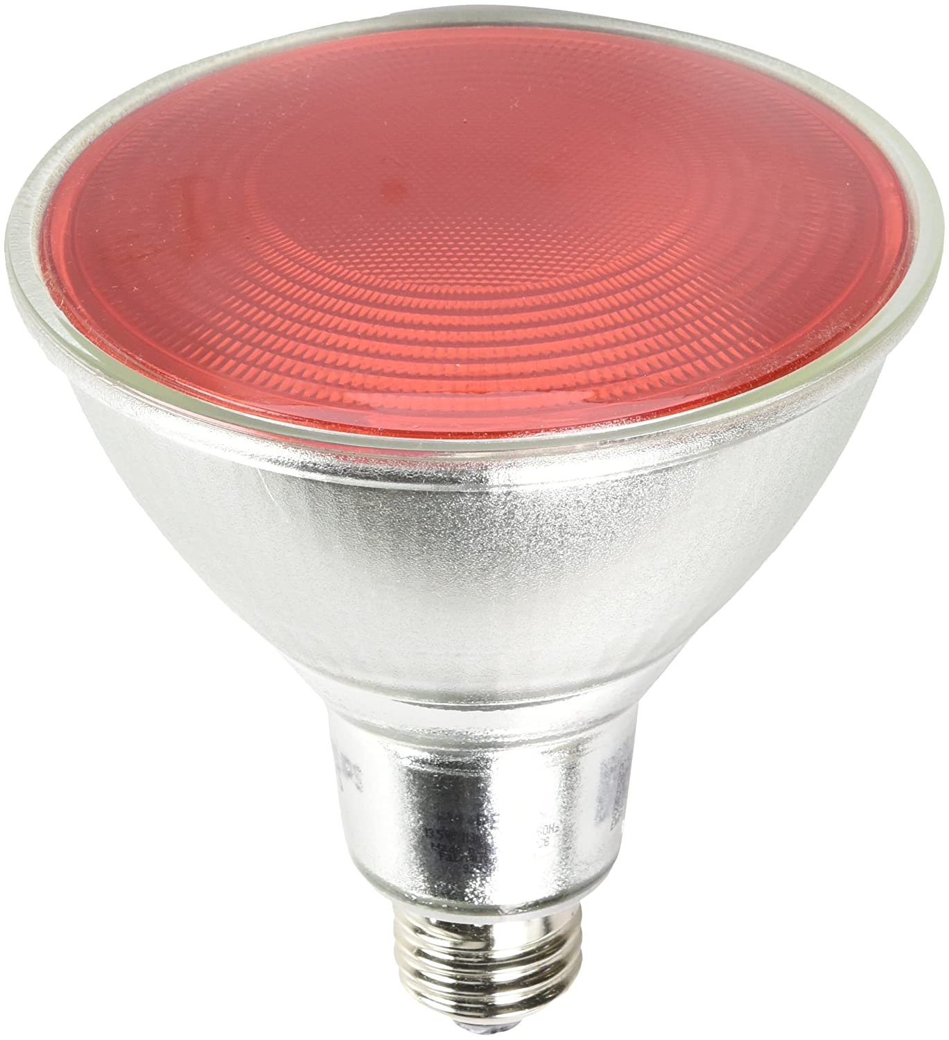 Philips non dimmable 13 5w red 40 par38 led bulb outdoor and enclosed fixture rated