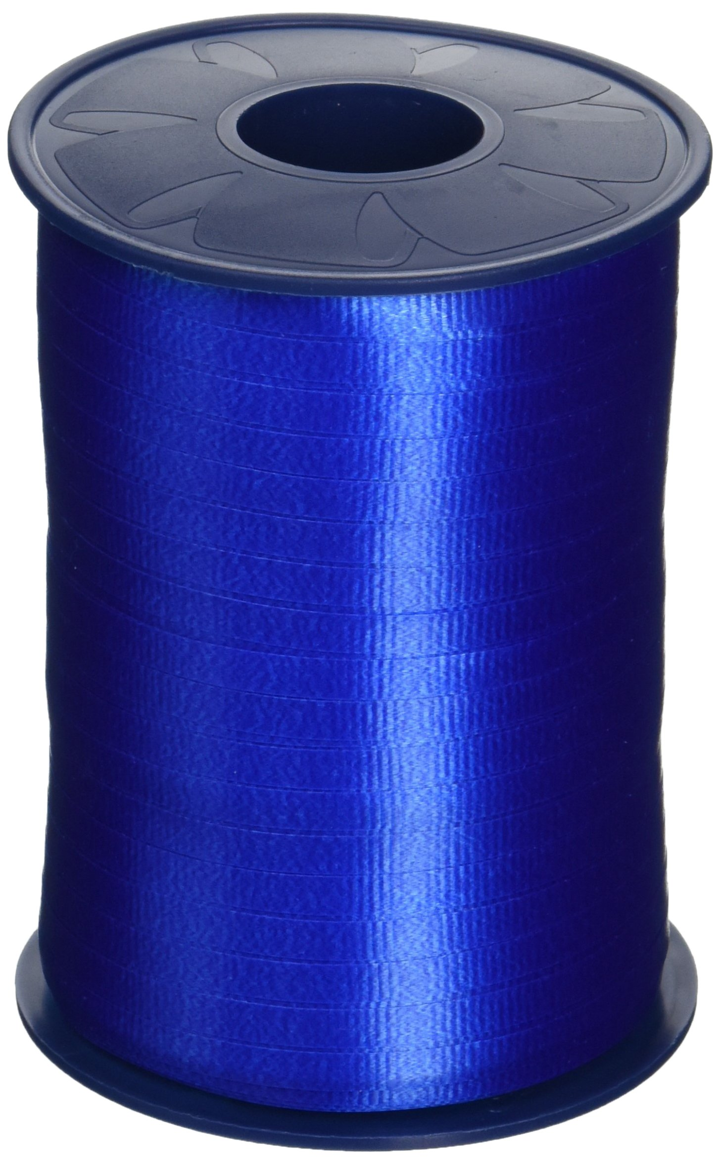 Morex Poly Crimped Curling Ribbon, 3/16-Inch by 500-Yard, Royal Blue (253/5-614)