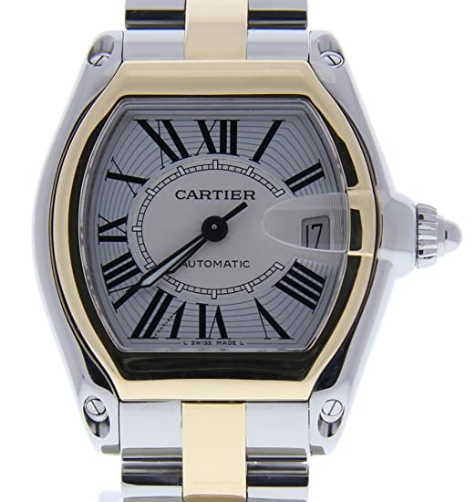 Cartier Roadster Automatic-Self-Wind Mens Reloj 2510 (Certificado) de Segunda Mano