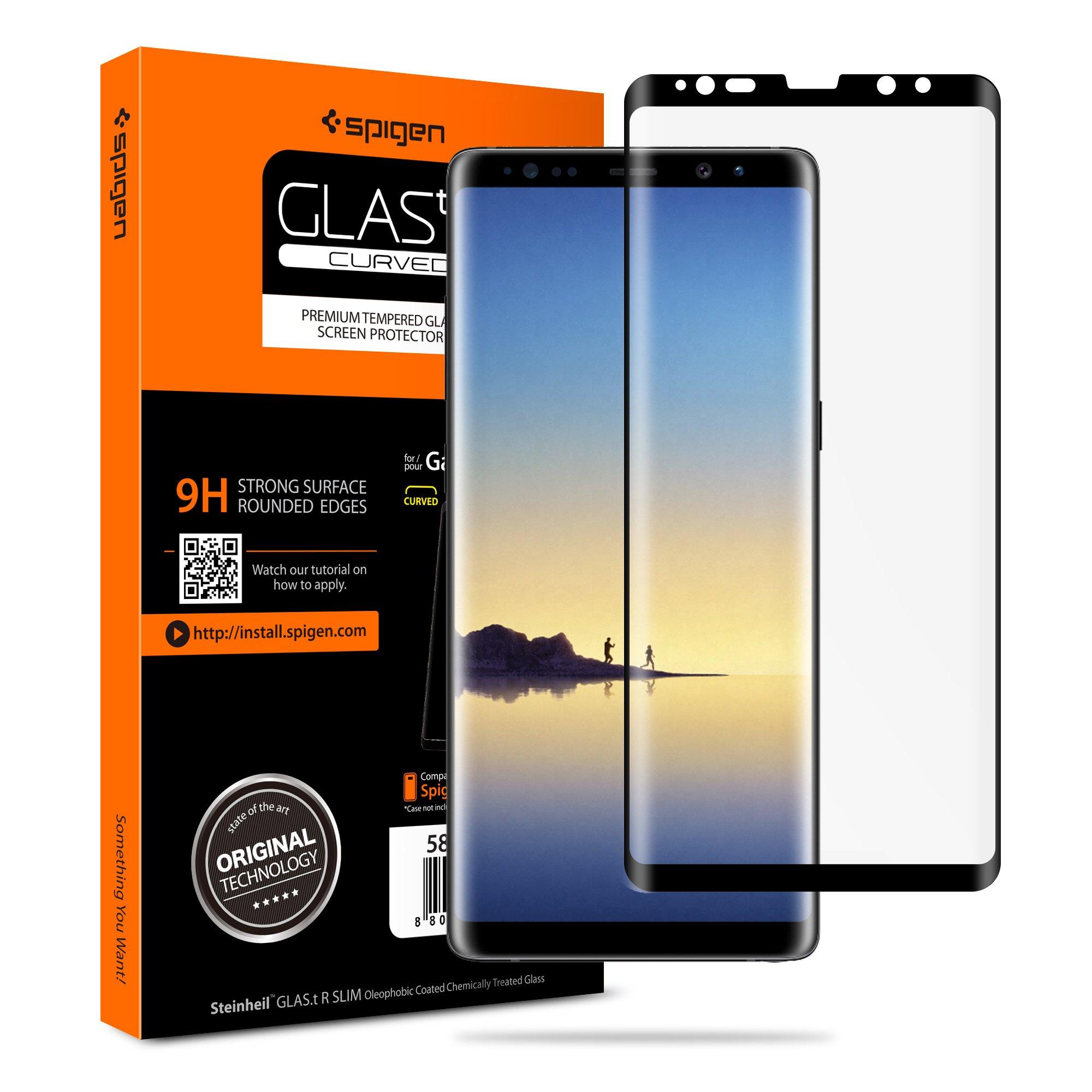 Vidrio Templado SPIGEN p/ Samsung Note 8