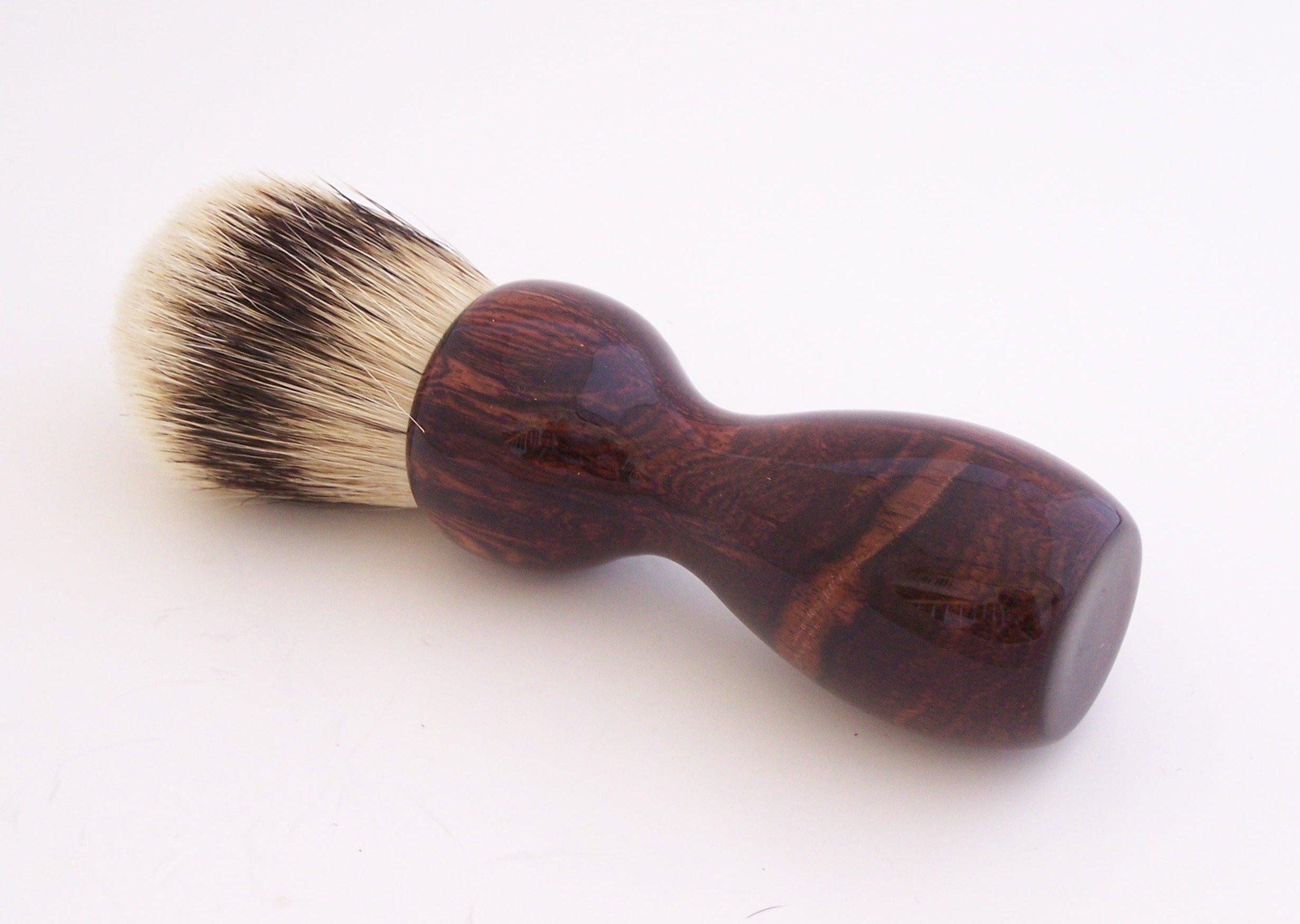 Camatillo Rosewood 24mm Super Silvertip Shaving Brush (C1)