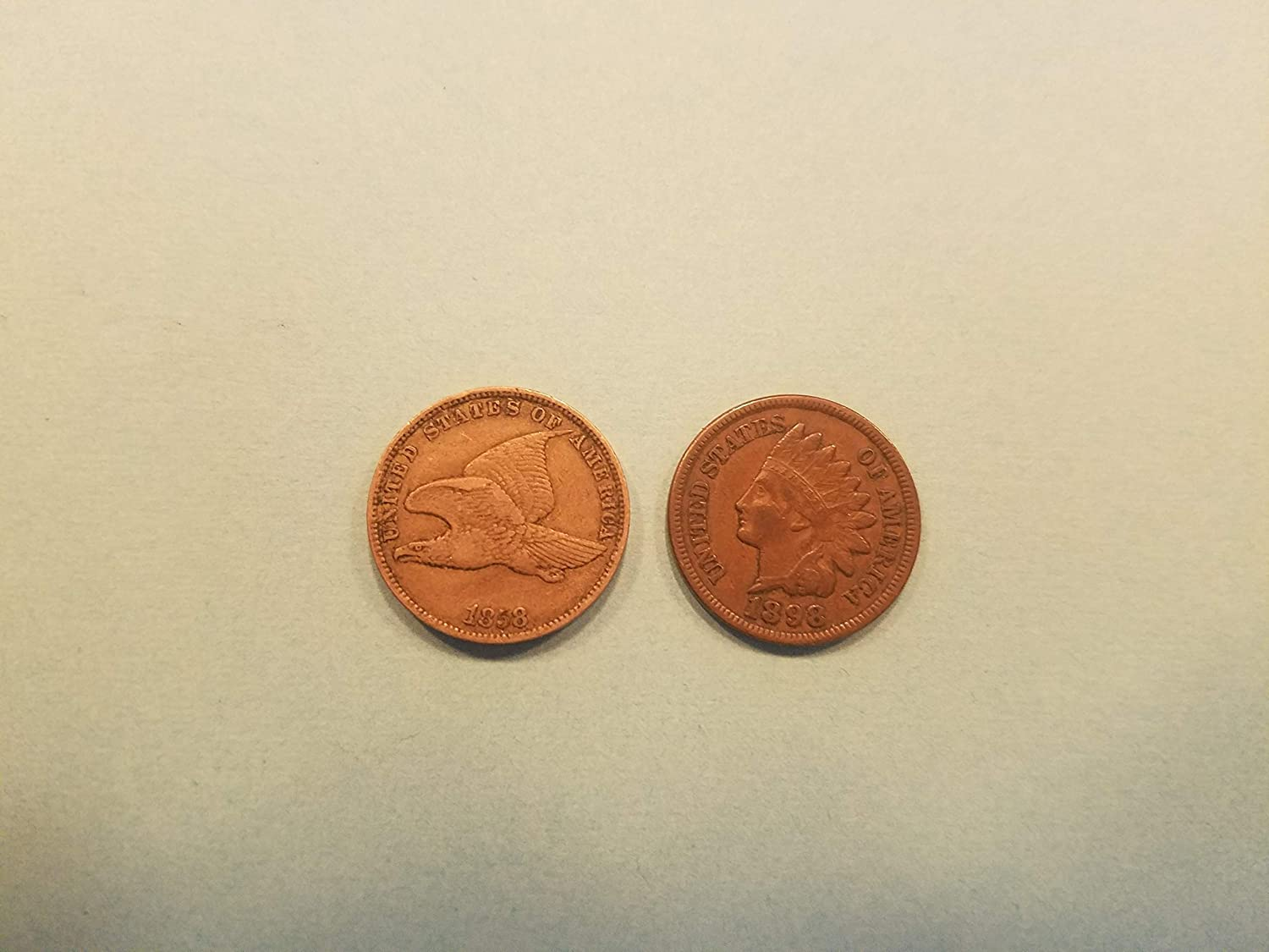 1900/'s LOT OF 10 Coins Mixed Indian Head Cent Pennies in Average Circ 1800/'S
