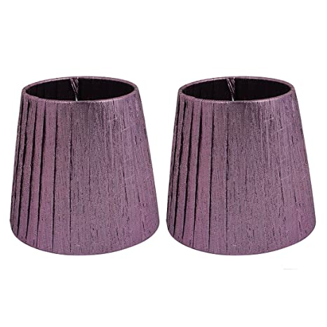 Uxcell 2pcs E14 Table Light Shade Droplight Wall Lamp Candle