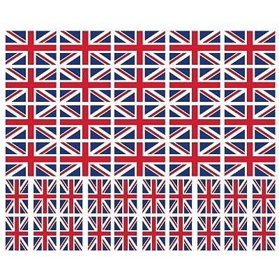 40 Tattoos: United Kingdom, British, Union Jack, UK Flag: Health & Personal Care