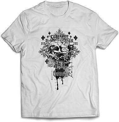 lepni.me Camisetas Hombre Heretic, diseño de Calavera - Radical, Gnosis, Camisa: Amazon.es: Ropa y accesorios