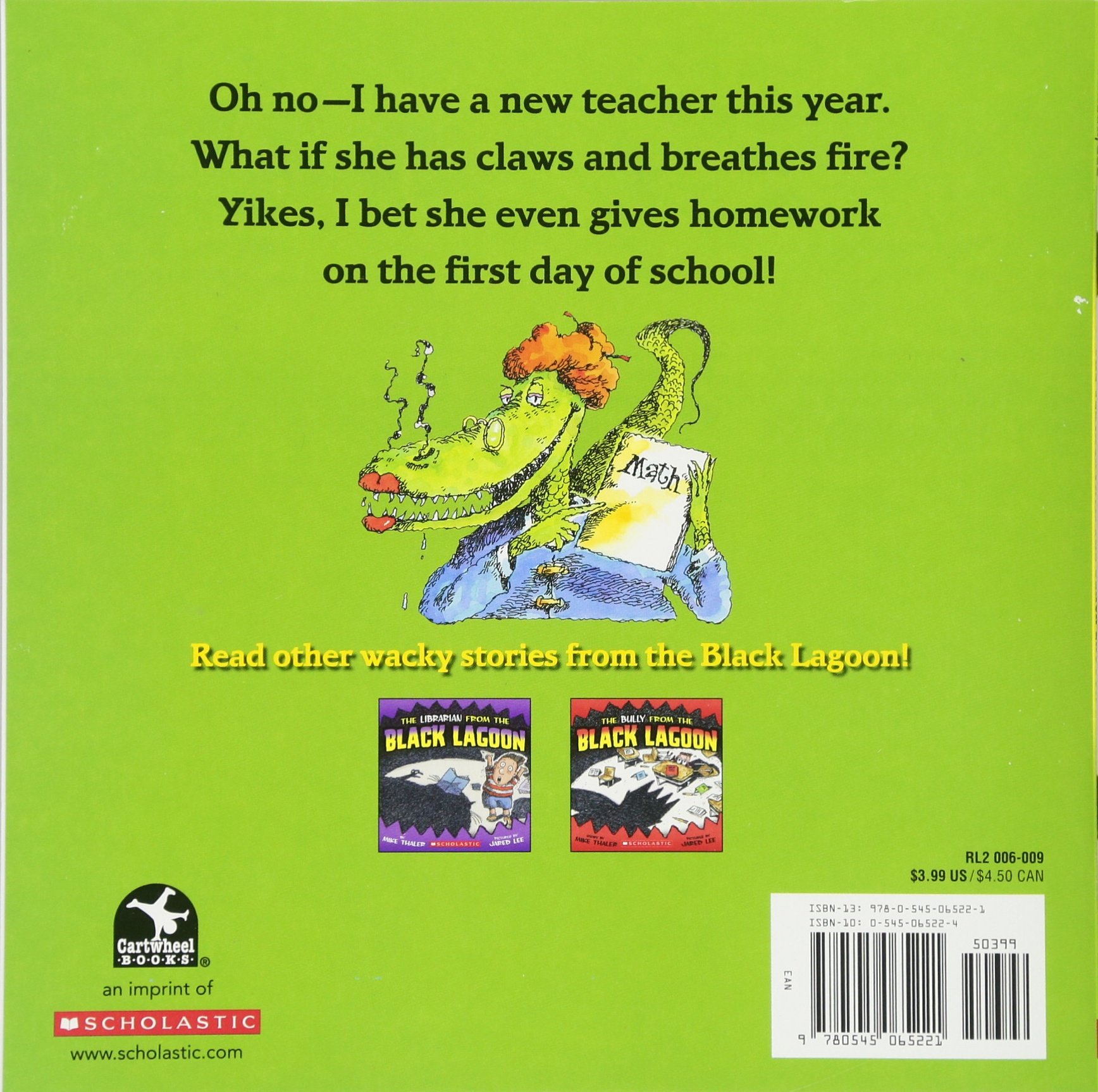 The Teacher From the Black Lagoon: Mike Thaler, Jared Lee