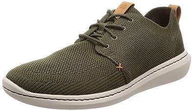 Clarks Men s Step Urban Mix Khaki Sneakers-8.5 UK India (42.5 EU ... 68e59d02c