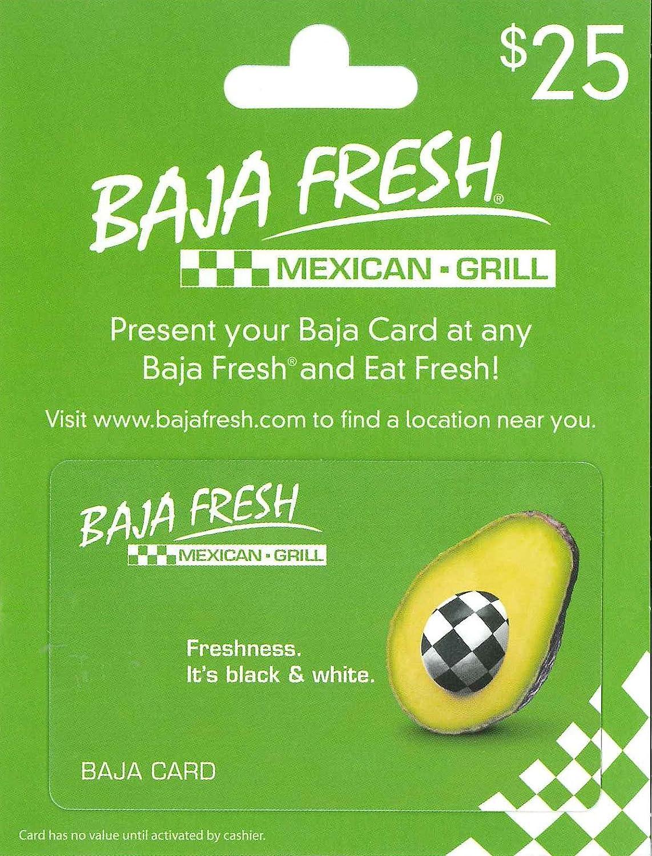 Baja Fresh Gift Card