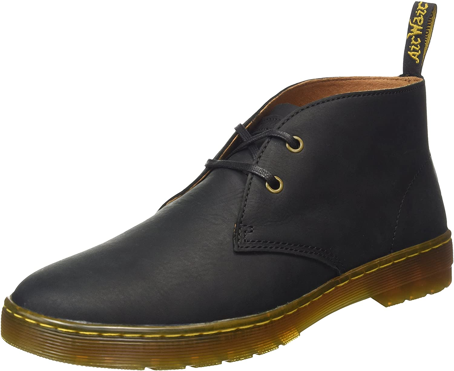 Dr Martens Cabrillo Mens 2 hole lace boots in Gaucho leather upper 16593001