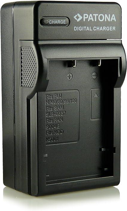 Ricoh DB-90 2in1 Kfz Netzt Akku Ladegerät für Fuji NP-95 NP-120 NP-60 NP-40