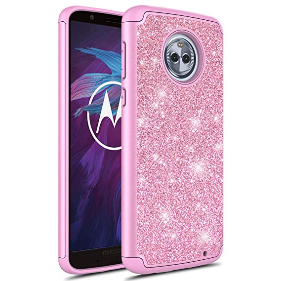 new style 233c8 43a8b Moto G6 Plus Case, Moto G Plus (6th Generation) case,Moto G6+ Case, Torryka  Glitter Bling Cute Women Girls Lady Anti Scratch Protective Shockproof ...