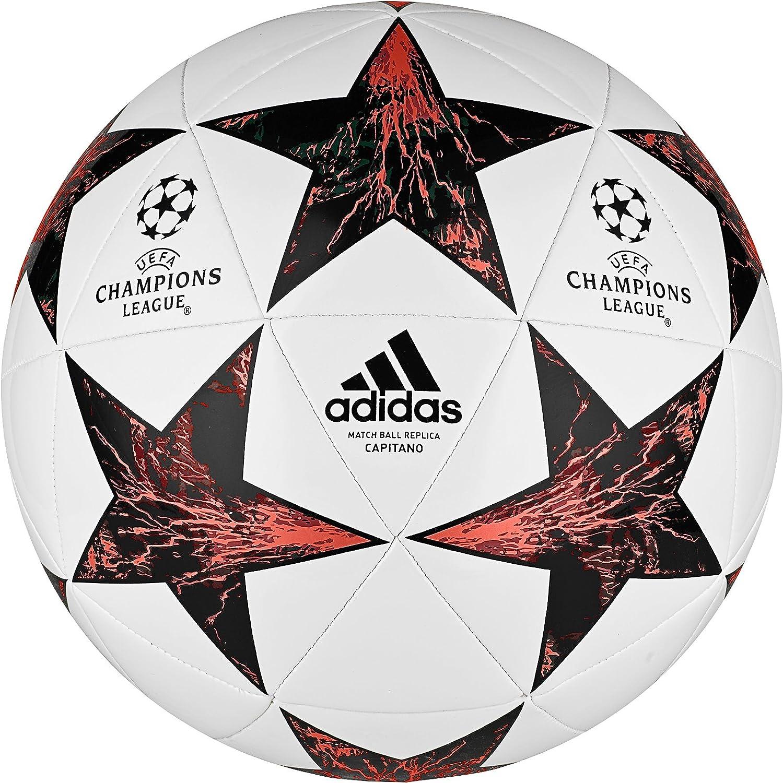 adidas サッカーボール パフォーマンス チャンピオンズリーグ フィナーレ キャピターノ B01MSXJ5EP 4|White/Black/Victory Red/Solar Red/Pink White/Black/Victory Red/Solar Red/Pink 4