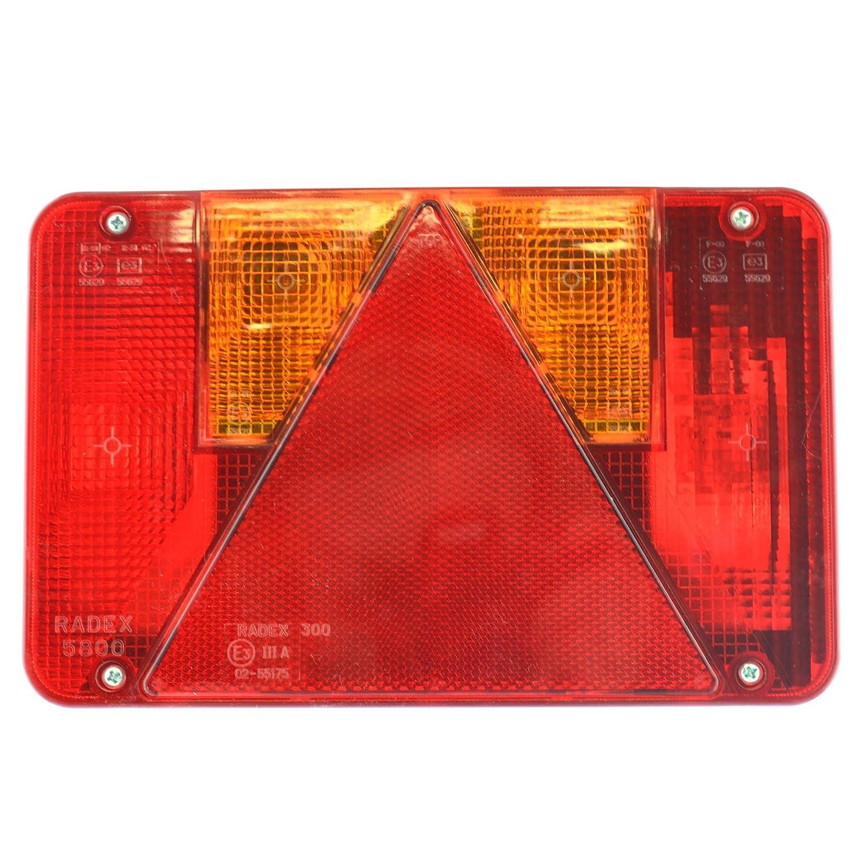 AB Tools-Maypole Feu de remorque Radex Main Droite pour l'Ifor Williams & Indespension TR207 Lampe