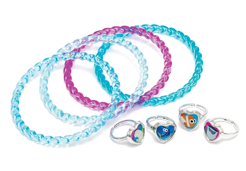 Joy Toy 41131/Finding Dory 4-Bracelets y 4-Rings Set