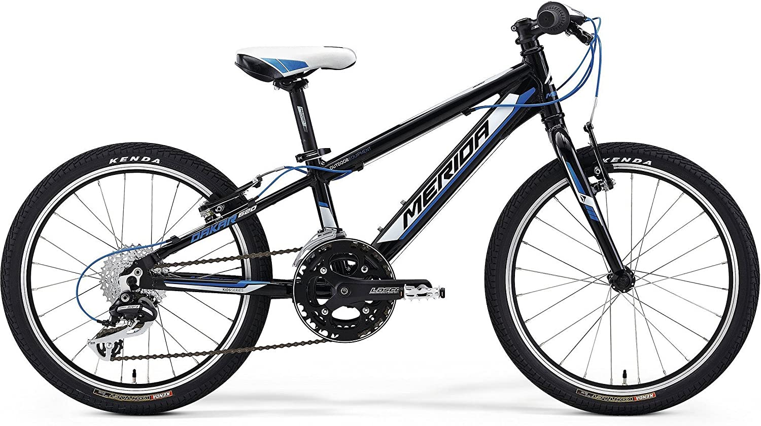 Bicicleta para niños Merida Dakar 620 Race Boy negra 2014: Amazon ...