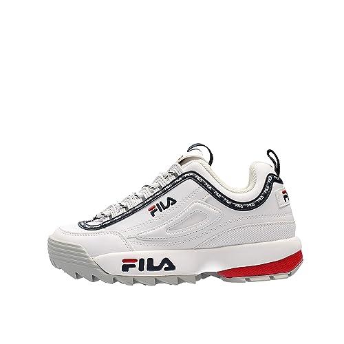 Fila Scarpe da Donna Sneaker Disruptor Low in Pelle 1010302 25Y