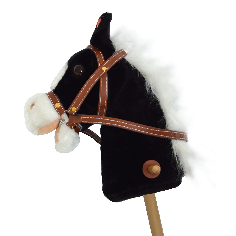 Pink Papaya caballo de juguete, Cordy, bonito caballo de juguete de cord con sonido: Relincho y galopeo 3S GmbH & Co. KG