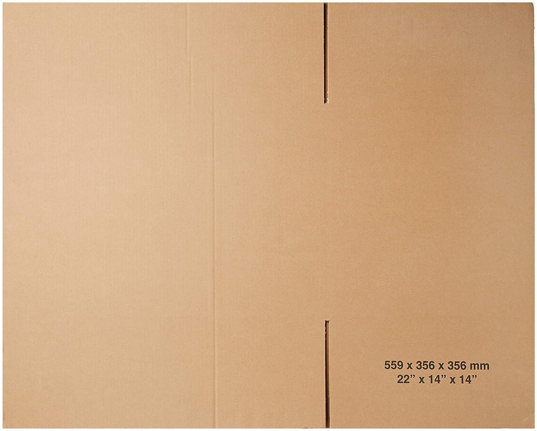 Triplast tplbx5singl22 x 14 x 14 cm, 575 x 370 x 365 mm in movimento, spedizioni postali rimozione Scatola di cartone TPLBX5SINGL22X14X14