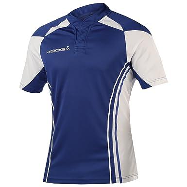 9ff68fd88ab Amazon.com: KooGa Mens Stadium Match Rugby Shirt: Clothing