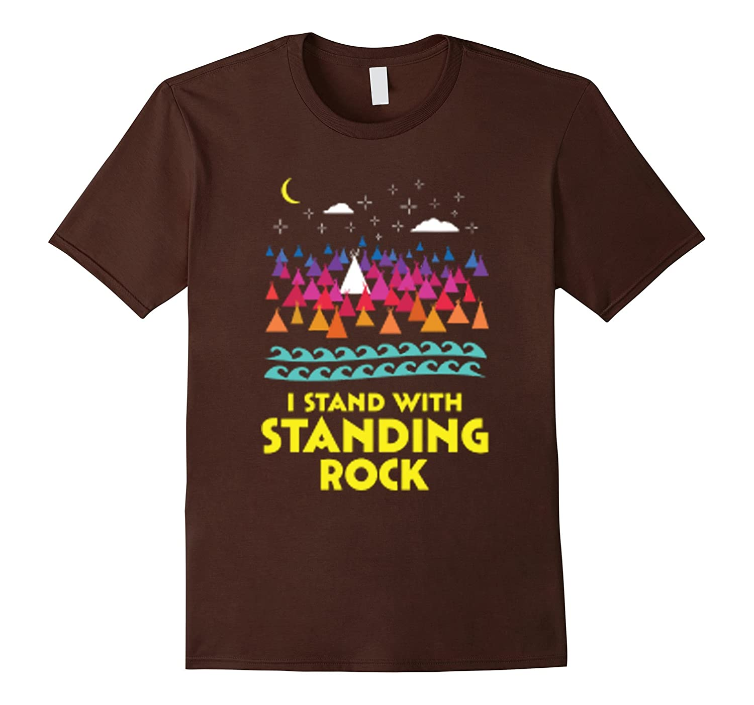 I Stand With Standing Rock tshirt-RT