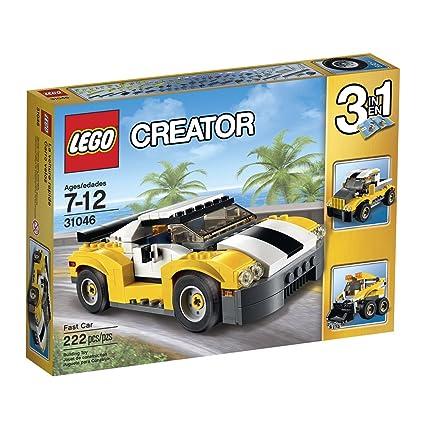Amazon.com: Creator LEGO 222 Pcs Fast Car 3-in-1 Brick Box Building Toys: Toys & Games