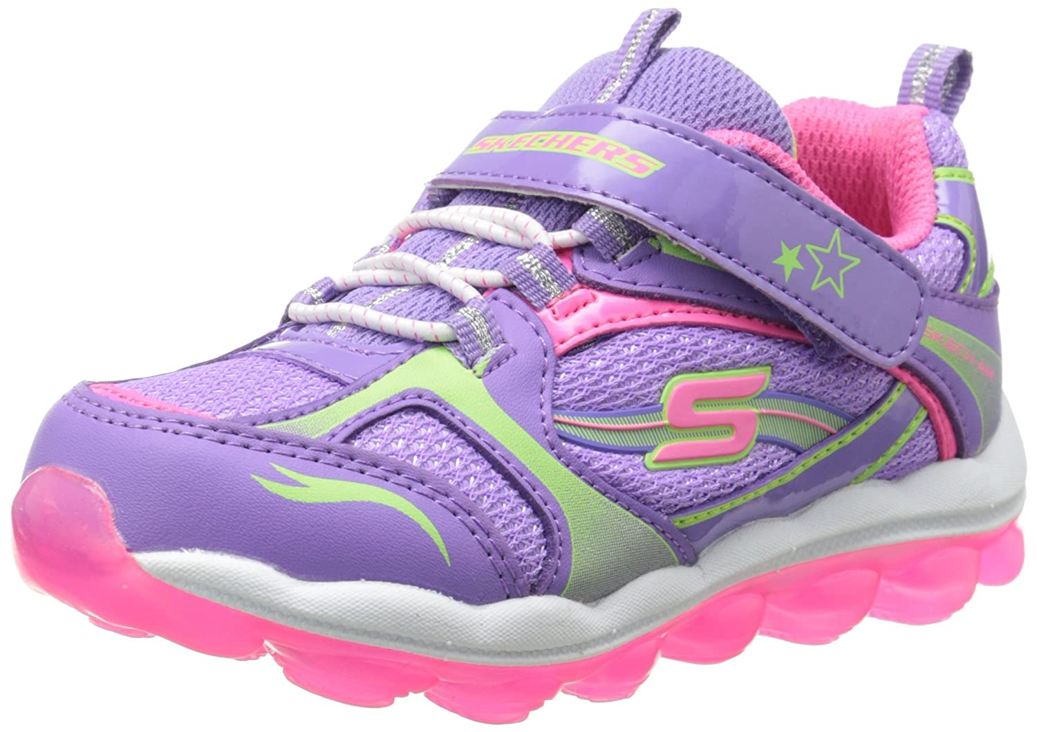 Lavender rose 38 EU Skechers Air-Bubble Beatz, Chaussures de Sport Fille