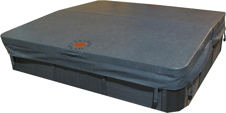 Canadiense SPA Company Cuadrado G 4R Deluxe Hot Tub SPA,
