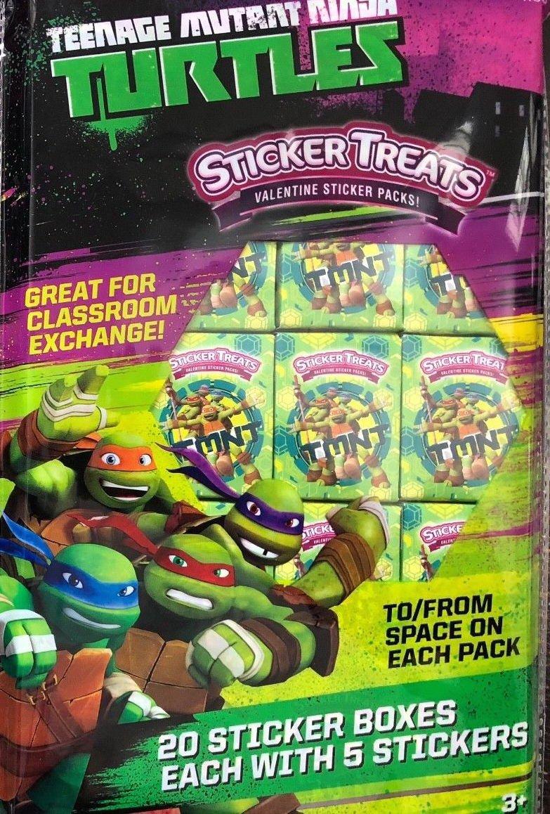 Caja de pegatinas para niños con diseño de tortugas ninja de ...
