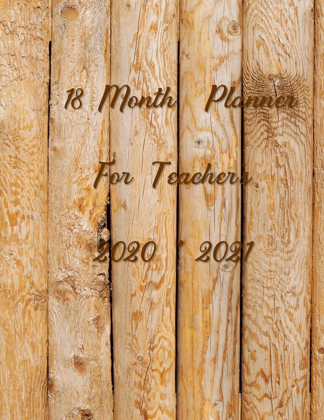 18 Month Planner For Teachers 2020 – 2021: It's easy for teachers to get through the year and stay organized with this planner. Pages for contacts, … important and urgent things, and appointments