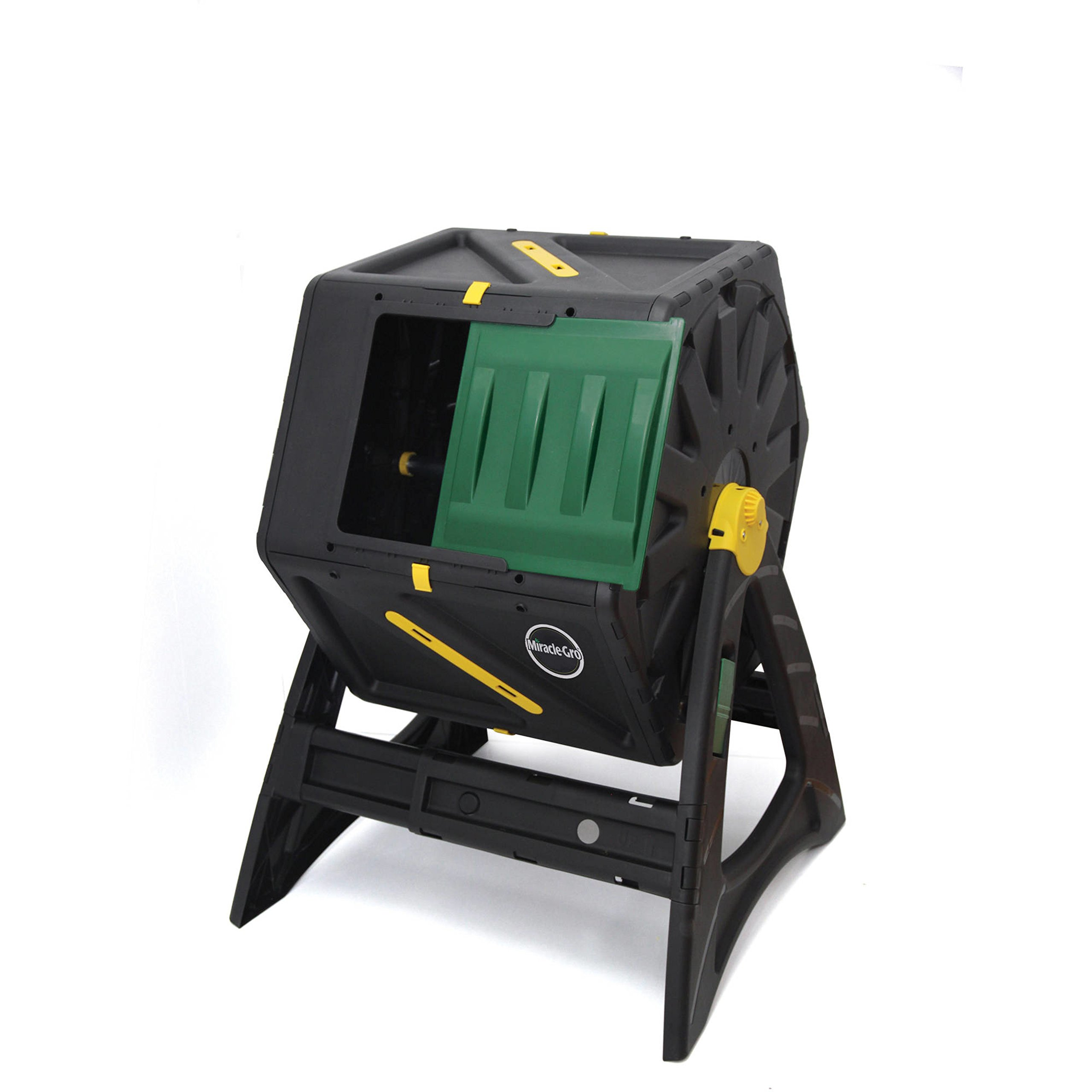 Single Chamber Tumbling Composter by Miracle