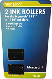 Monarch 925403 Replacement Ink Rollers, Black (Pack of 2), 1 - MNK925403