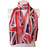 Union jack scarf thin pretty scarf great for any outfit lovely gift