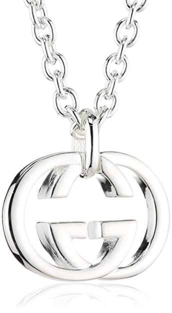 ae368e48b73 GUCCI silver britt collection necklace YBB190484001  Amazon.co.uk  Jewellery