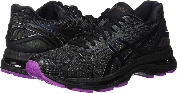 Asics Gel-Nimbus 20 Lite-Show, Zapatillas de Entrenamiento para Mujer, Negro (Black/Black 001), 37.5 EU: Amazon.es: Zapatos y complementos