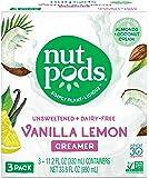 nutpods Vanilla Lemon 3-pack, Unsweetened Dairy-Free Creamer