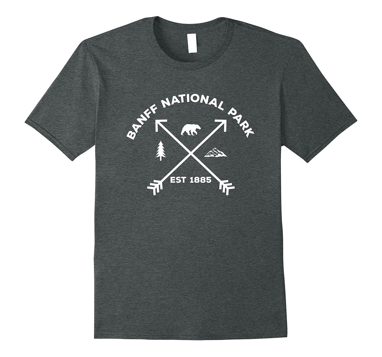 Banff National Park 1885 Bear Mountain Arrow Tree T-Shirt-Art