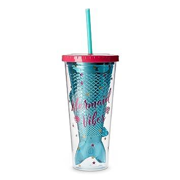 Amazoncom Tri Coastal Design Fun Mermaid Plastic Cup Tumblers