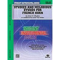 Studies And Etudes F Horn 1 (Student Instrumental