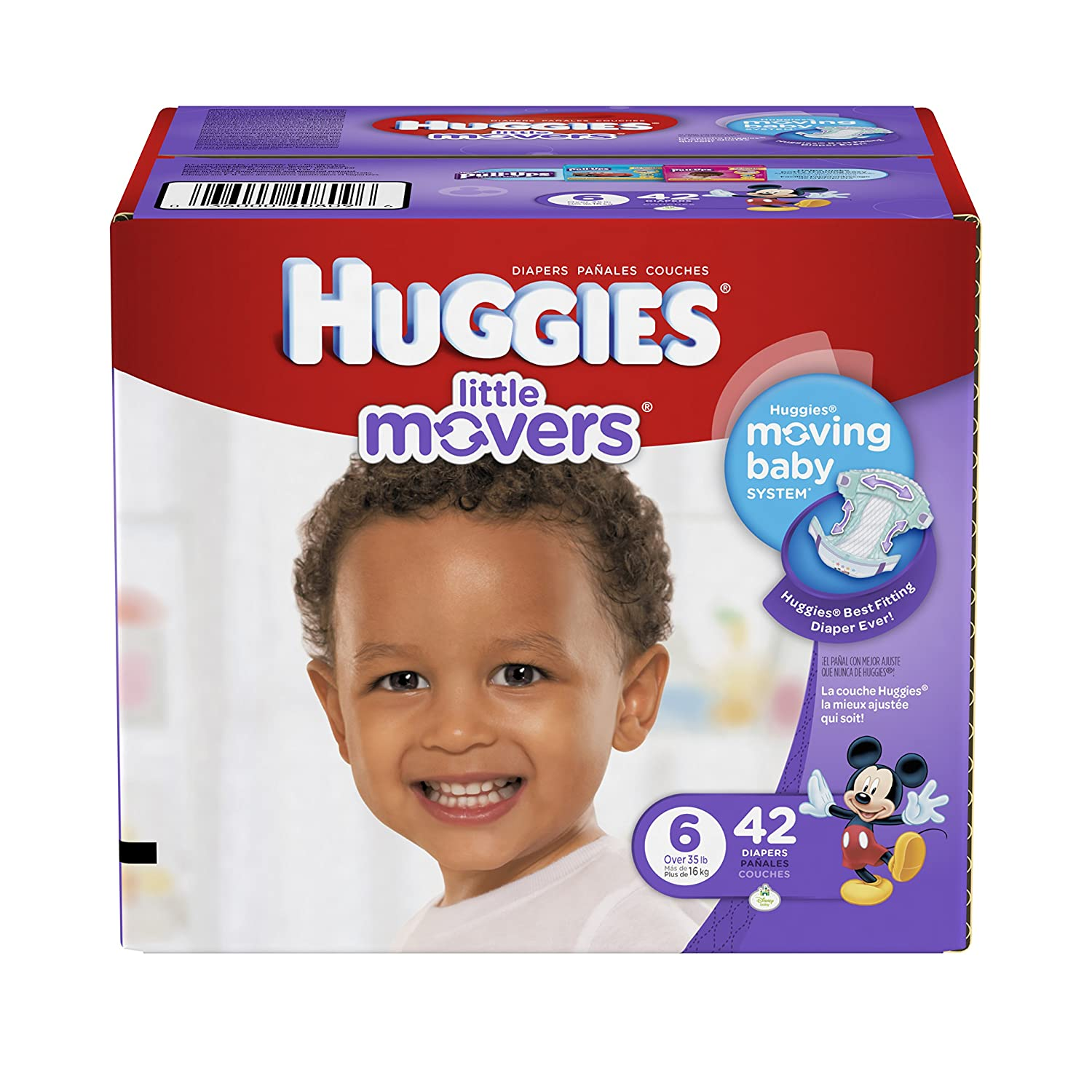 Amazon.com: Huggies Little Movers Diapers - Size 6 - 42 ct: Health & Personal Care