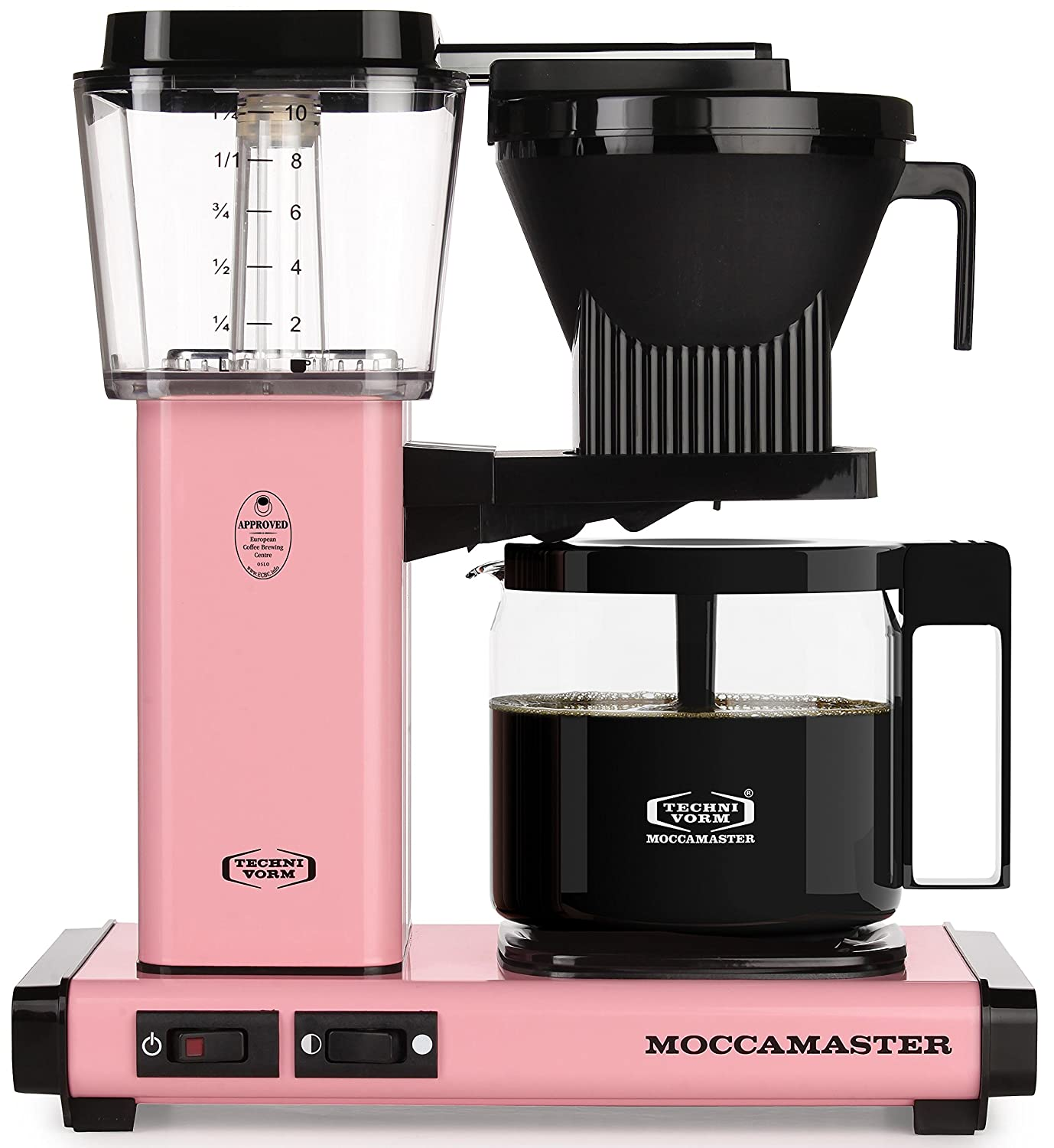 Technivorm Moccamaster 59607 KBG Coffee Brewer, 40 oz, Pink