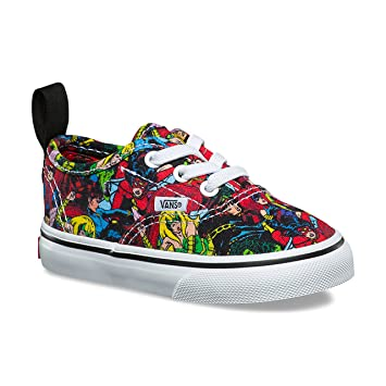 cd29c42bfe7 Vans Authentic Elastic Lace (Marvel) (Toddler)  Amazon.in  Baby