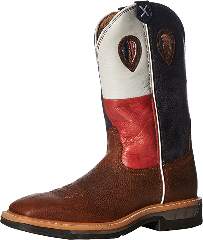twisted x black lite cowboy work boots