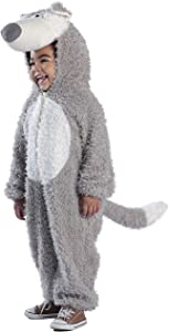 Princess Paradise Child's Big Bad Wolf Deluxe Costume, As Shown, Small