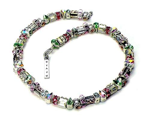 Bijoux et montres Original handmade Otazu necklace with Swarovski crystals. Bijoux fantaisie
