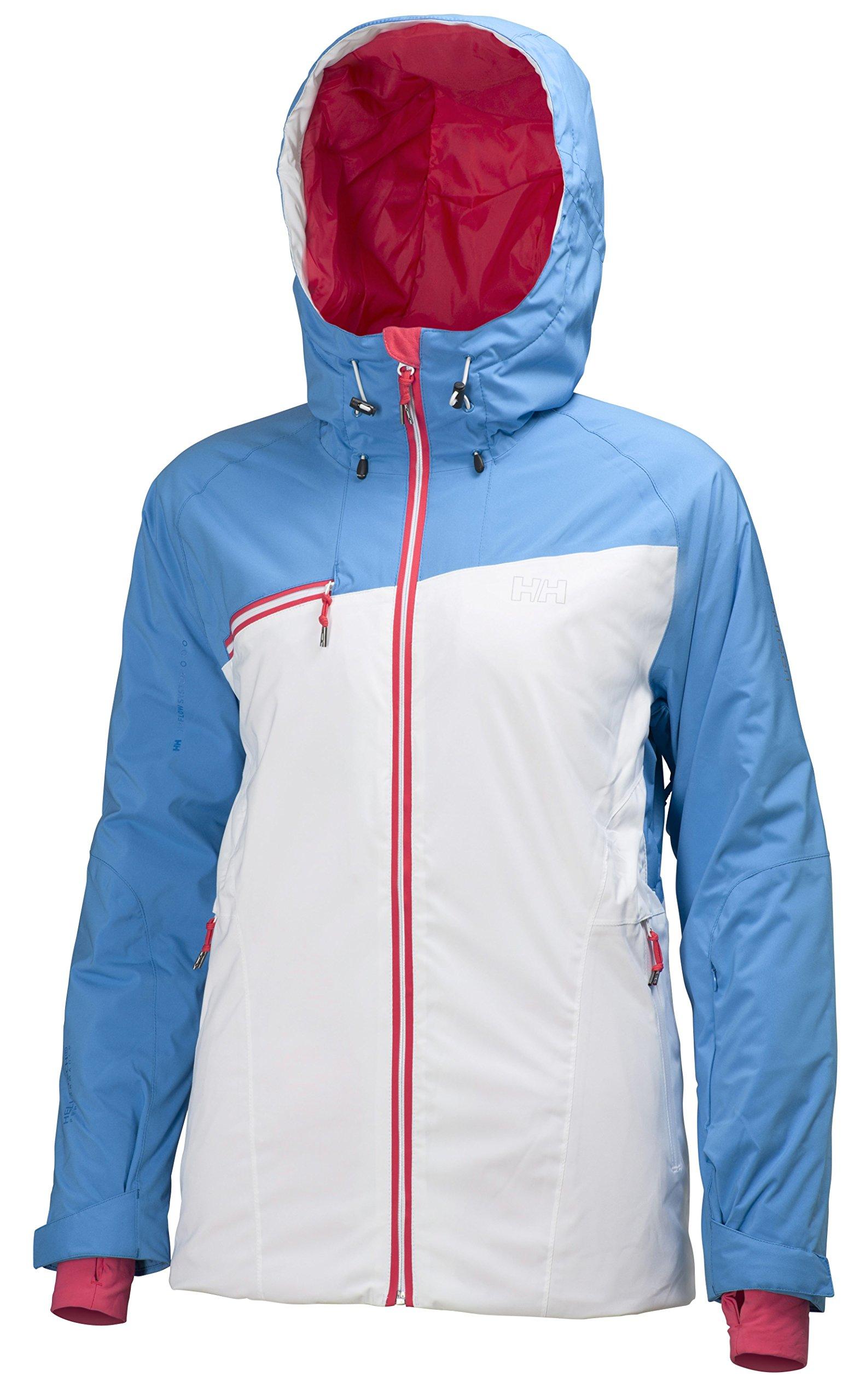 Helly Hansen Women's Stella Storm Jacket, Silk Blue, Medium