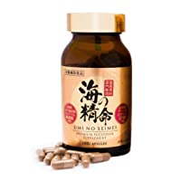 High Concentration Fucoidan Supplement UMI NO SEIMEI 180 Capsules | Fucoidan Extract...