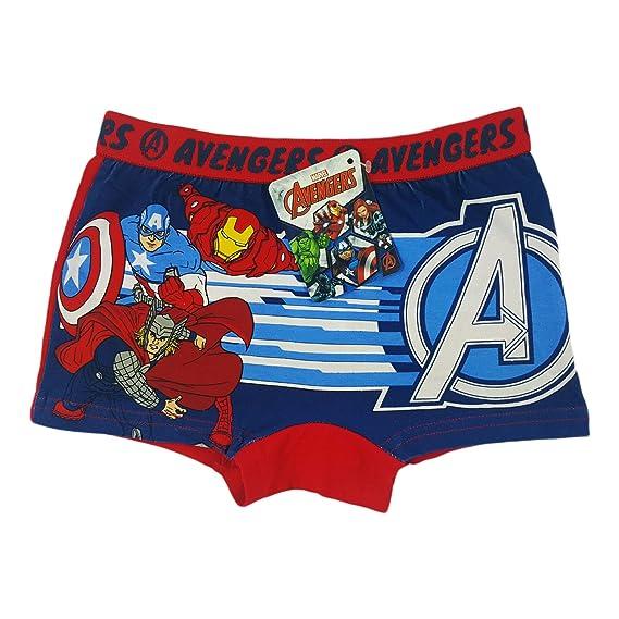 Avengers - Calzoncillo - para niño rojo 8 años : Amazon.es: Ropa y accesorios